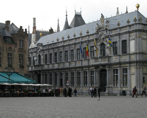 Bishop's Palace, Bruges Belgium
