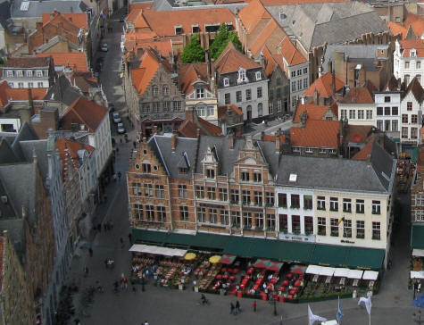 Restaurants in Bruges Belgium