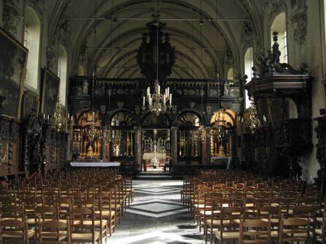 Saint Anna Church In Bruges Belgium Sint Annakerk